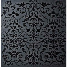 Лист картона Bazzill 'Glazed Cardstock - Raven With Wallpaper', 30х30см