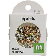 Люверсы Making Memories '1/8 Circle Eyelets Variety Pack, Metallic'