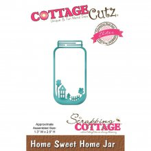 Нож CottageCutz Elites Die - Home Sweet Home Jar