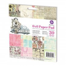 Набор двусторонней бумаги Prima Marketing -  Double-Sided Paper Pad - Garden Fable