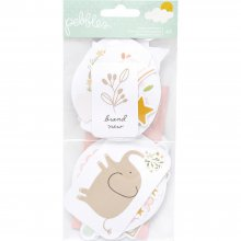 Набор высечек Pebbles - Peek-A-Boo You - Ephemera Cardstock Die-Cuts - Icons, Girl W/Embossed Accents