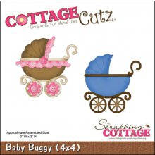 Ножи CottageCutz - Baby Buggy 10,2х10,2см