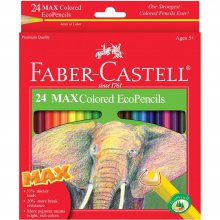 Набор карандашей Faber-Castell - MAX Colored EcoPencils 24шт