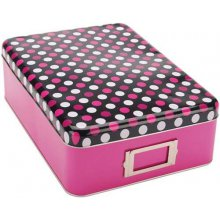 Коробка для хранения материалов Mackinac Moon Tin Storage Box - Pink