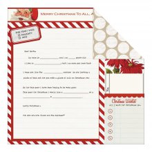 Лист скрапбумаги Teresa Collins - Santa's List Collection - Santa's Letter, 30х30см