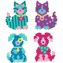 Набор термомозаики Perler - Kitties 'n Puppies, 800 шт