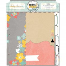 Журнал Bo Bunny - Misc Me Journal Dividers