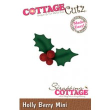 Ножи CottageCutz Mini Die -Holly Berry