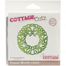 Ножи CottageCutz Die -Elegant Wreath
