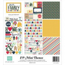Набор бумаги Echo Park Paper - Our Family, 30 х 30 см