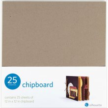 Лист картона (чипборд) Silhouette America - Media Chipboard, 30х30 см